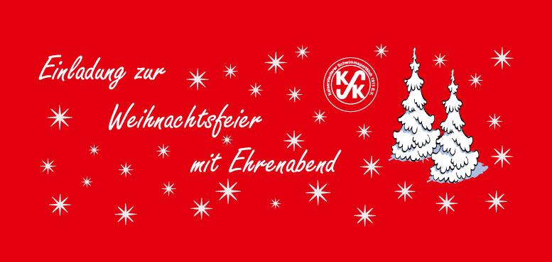 Einladung Zur Weihnachtsfeier.Einladung Zur Weihnachtsfeier Mit Ehrenabend